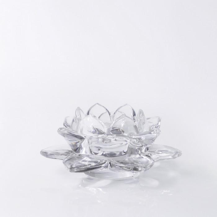 เชิงดอกบัวแก้ว 5cm CLA GLASS