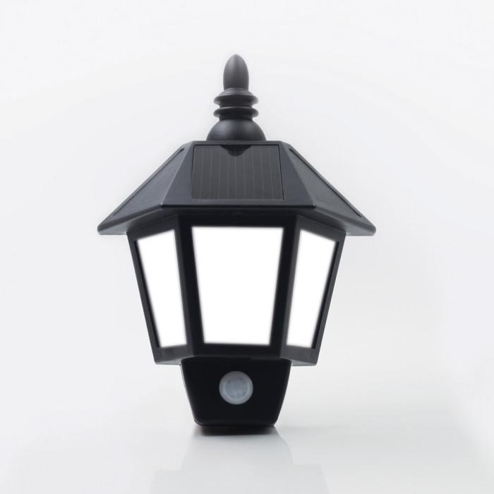 Nightlight ดำ RIN Solar โคมไฟ 3LED