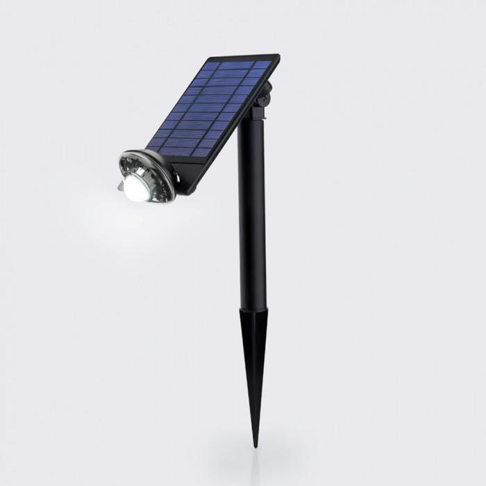 Nightlight ดำ RIN Solar ไฟสปอร์ตกลม 8LED
